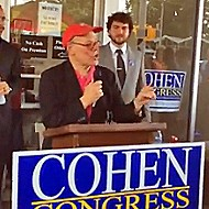 Cohen Gets Goin' at Headquarters Opening