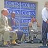 "Rep. Cohen Holds Headquarters Rally, Calls  Herenton ""Coward"""