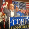 Cohen Wins Big Over Tinker; Democrats Victorious Countywide
