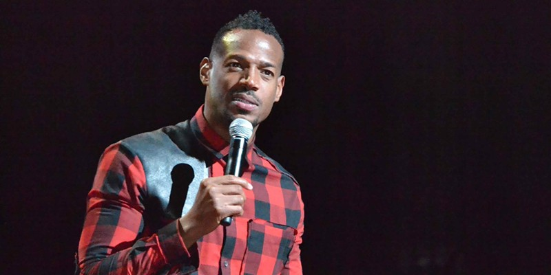 Memphis Music Hall of Fame: 2014 Comedian Marlon Wayans hosted the third annual Memphis Music Hall of Fame Induction Ceremony. Patrick Lantrip