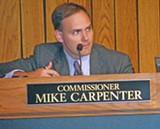 JB - Commissioner Mike Carpenter