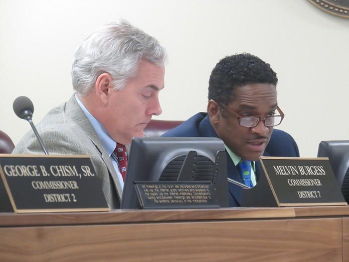 Commissioners Steve Basar and Eddie Jones - JB