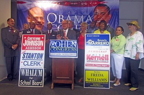 Congressman Steve Cohen confirmed his position at the top of the political pyramid with an unprecedentedly huge Democratic primary win over 9th District opponent Tomeka Hart, but the candidates on his endorsement ballot had mixed results.