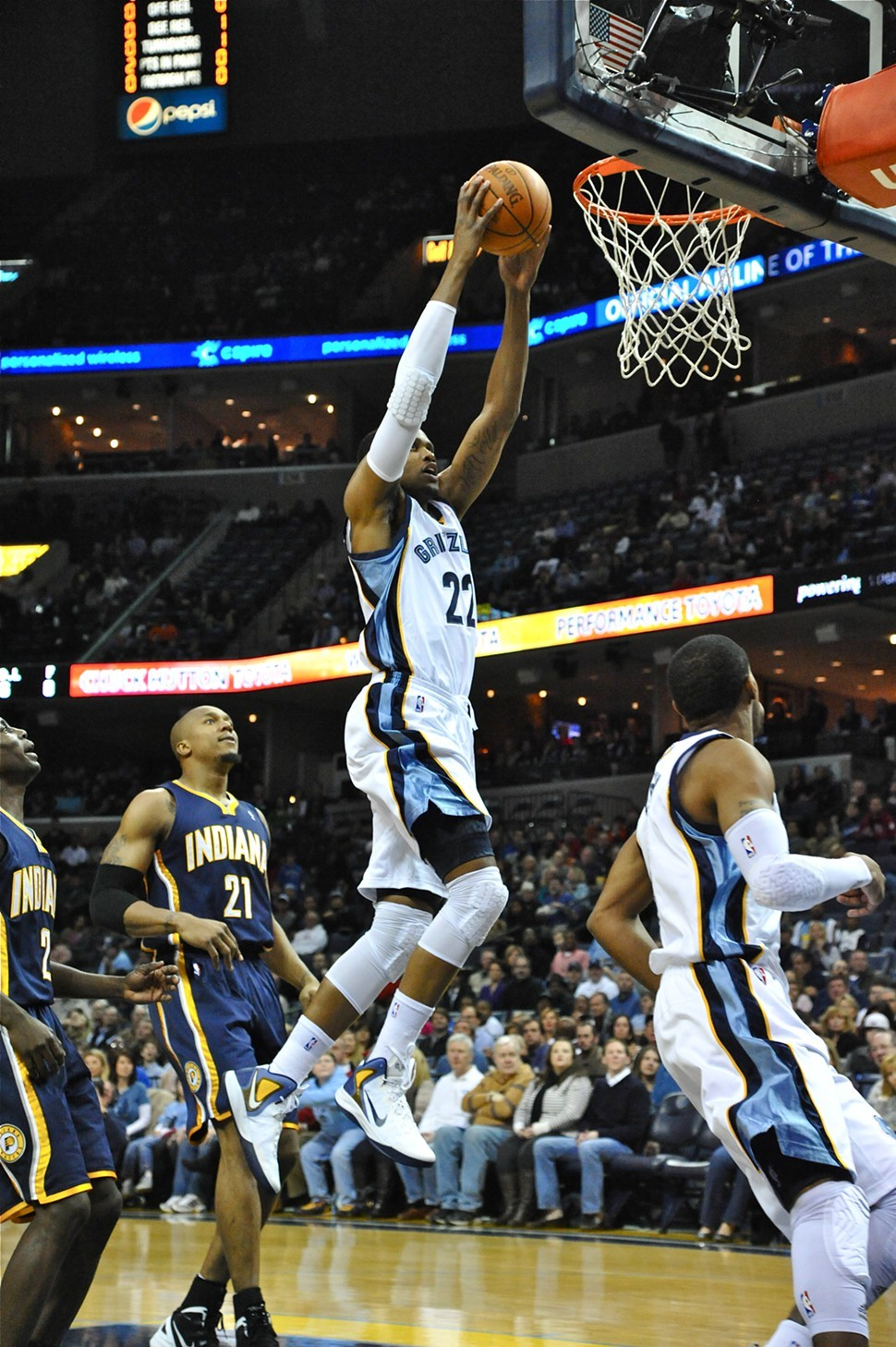 Contrary to conventional wisdom, Rudy Gay has been getting to the rim more often this season.