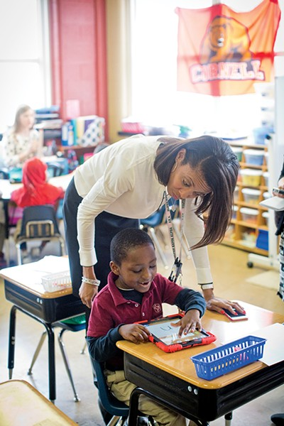 Cornerstone Prep Principal Lisa Settle