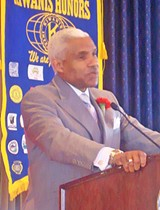 JB - County mayor A C Wharton at downtown Kiwanis