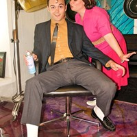 Courtney Oliver and Jordan Nichols in HAIRSPRAY at POTS