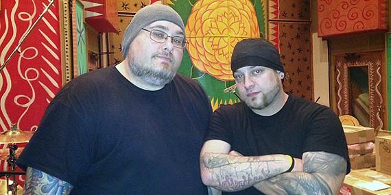 Cris Brown and John Falls