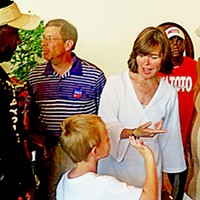A Family Affair D.A. Amy Weirich campaigning for reelection in Frayser with husband Chuck JB