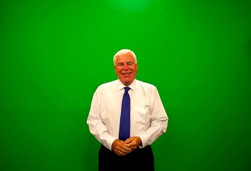 "Dave Brown, who has been a Weatherman for Action News 5 for 36 years, jokes that aspiring weather-people also shouldn't forget to take the class ""Waving at a Green Screen 101."""
