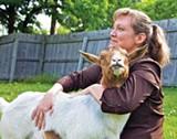 LITTLE HOUSE IN THE SUBURBS - Deanna Caswell, aka the Goat Lady