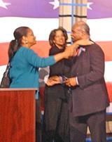 JB - Debater Morris gets two votes.