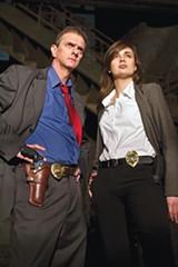 ANDREW BREIG - Dennis Phillippi as Ernie Sinsky and Shannon Walton as Rachael Barrett in Headshop