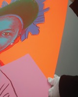 THE ANDY WARHOL FOUNDATION FOR THE VISUAL ARTS, INC. - Detail of Reigning Queens (Royal Edition)(Queen Ntombi)