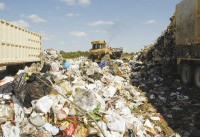 Dirty work: the BFI landfill near Millington - JUSTIN FOX BURKS
