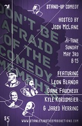 ERIC HUBER - Don't Be Afraid of the Comedy, Memphis: May 2015