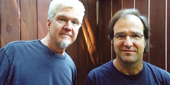 Doug Easley (left) and Davis McCain (right)