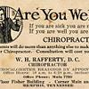 Dr. W.H. Rafferty — Memphis Chiropractor