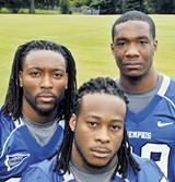 Duke Calhoun, Curtis Steele, and Carlos Singleton - LARRY KUZNIEWSKI