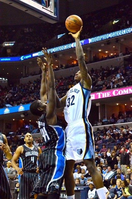 Ed Davis seems to have worked his way into the Grizzlies rotation.