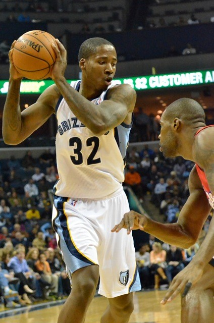 Ed Davis was one of the only Grizzlies who played well last night.
