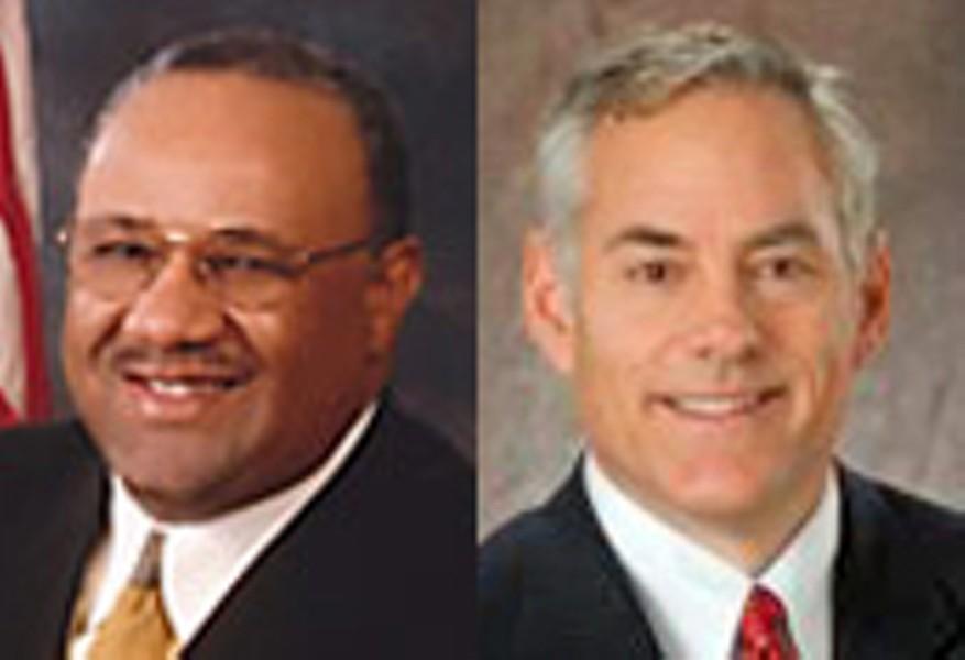 Ed Stanton Jr. (left); Steve Basar