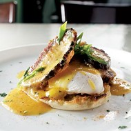 Eggs Benedict at Rizzo's