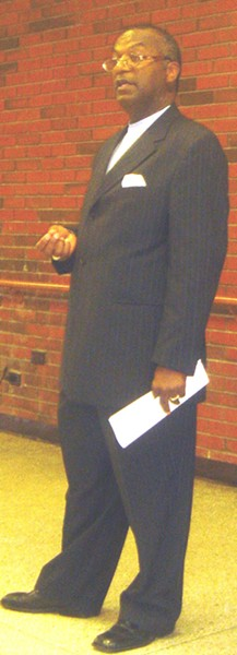Election Commission head James Johnson - J.B.