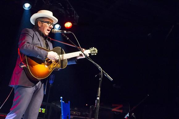 Elvis Costello Live at Minglewood Hall in Memphis, TN. - JOSH MILLER