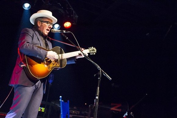 Elvis Costello Live at Minglewood Hall in Memphis, TN. - JOSH MILLER