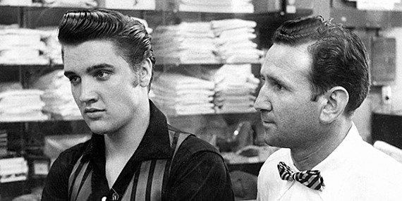 Elvis with Bernard Lansky