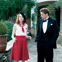 Emma Stone and Colin Firth
