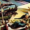 Thomas Hart Benton Train Paintings at The Brooks