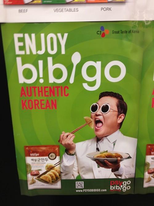 Enjoy dumplings, Gangnam style!