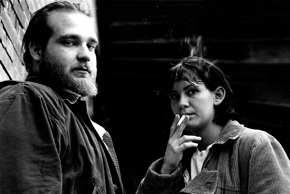 Eric Tate and Lindsey Roberts, iconic, in Craig Brewers The Poor & Hungry.