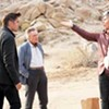 High-concept <i>Seven Psychopaths</i> is colorful but smug.