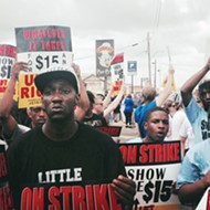 Fast-food Workers Strike for Higher Wages, Get Arrested