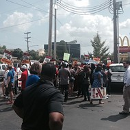 Arrests Made at Fast-Food Strike