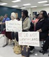 Fayser residents protest the Memphis Wrecking  Company landfill.