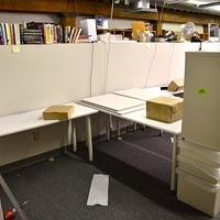 Office Rehab February 21, 2013 Followed by the endcap file cabinets... Larry Kuzniewski