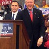 Ford Gets Help from Clinton