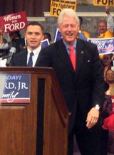 JB - Ford and Clinton at the Temple of Deliverance