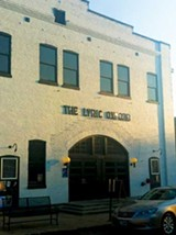 CHRIS DAVIS - Formerly the Faulkner family stables, the Lyric theater now hosts concerts and shows.