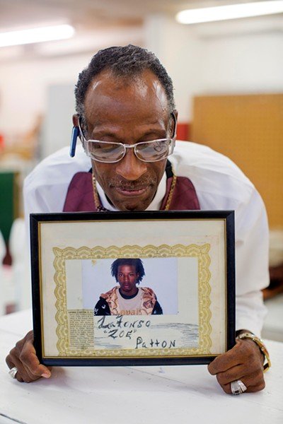Fred Tibbs, father of slain 18-year-old Lafonso Patton - JUSTIN FOX BURKS