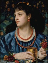 Frederick Sandys' Ysoude with the Love Philter (1870) Collection Museo de Arte de Ponce - PHOTO: JOHN BETANCOURT