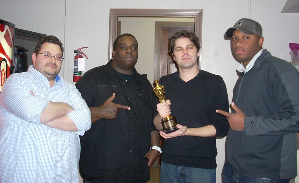 From left: Greg Akers, Oscar-winner Frayser Boy, Kevin Cerrito, and Marcus Hunter