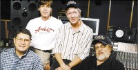 (From left) John Fry, Jody Stephens, John Hampton and Jim Dickinson - COURTESY ARDENT STUDIOS