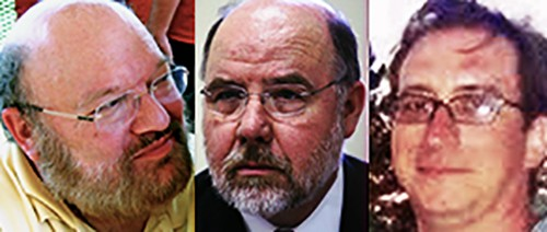 From left: Weinberg, Holden, Ross