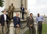 BY MURRAY RISS - Front row, left to right: Robert Loeb, Henry Turley, Herman Arthur Gilliam Jr., Elliot Perry; back row, left to right: Archie Willis III, Jason Wexler, Mark Yates