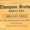Funeral Homes Running Ambulance Services